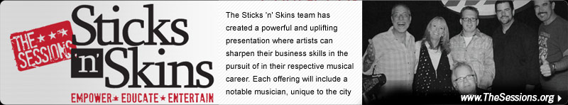 Sticks 'n' Skins - The Sessions